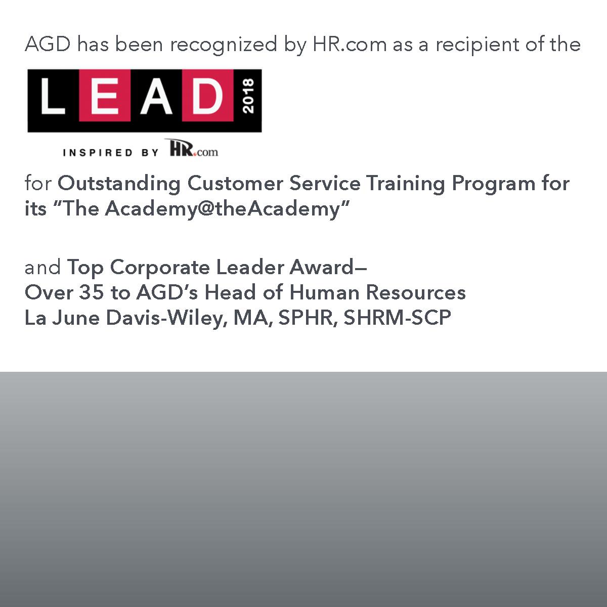 AGD_HR award