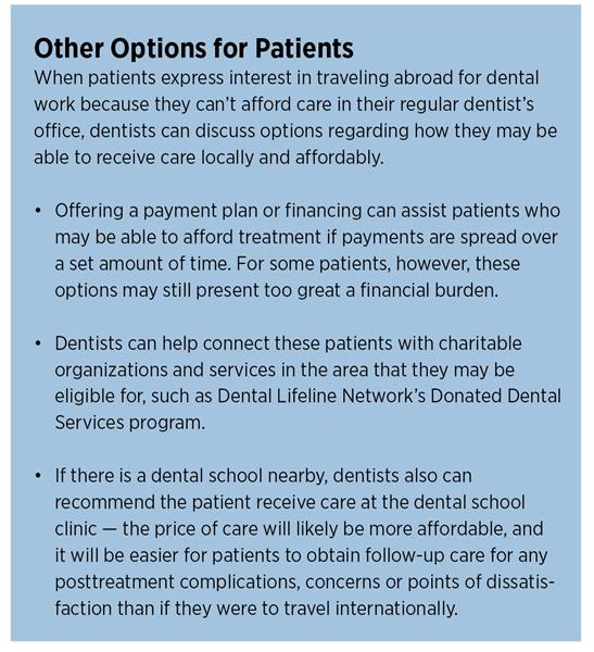 Other Options for Patients Dental Tourism