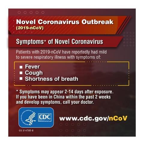 CDC Novel Coronavirus Information