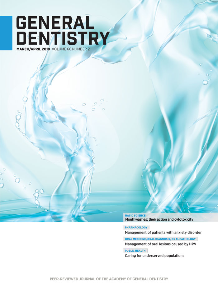 General Dentistry March/April 2018 Cover