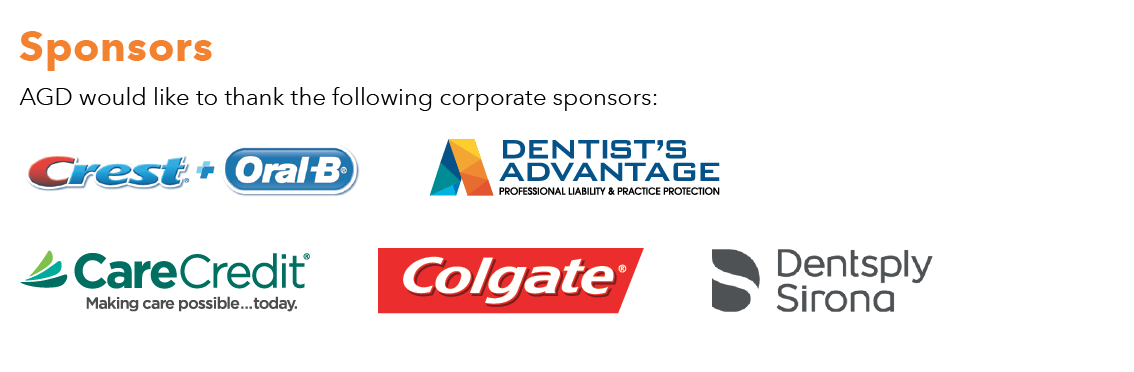 AGD2018 Corporate Sponsors